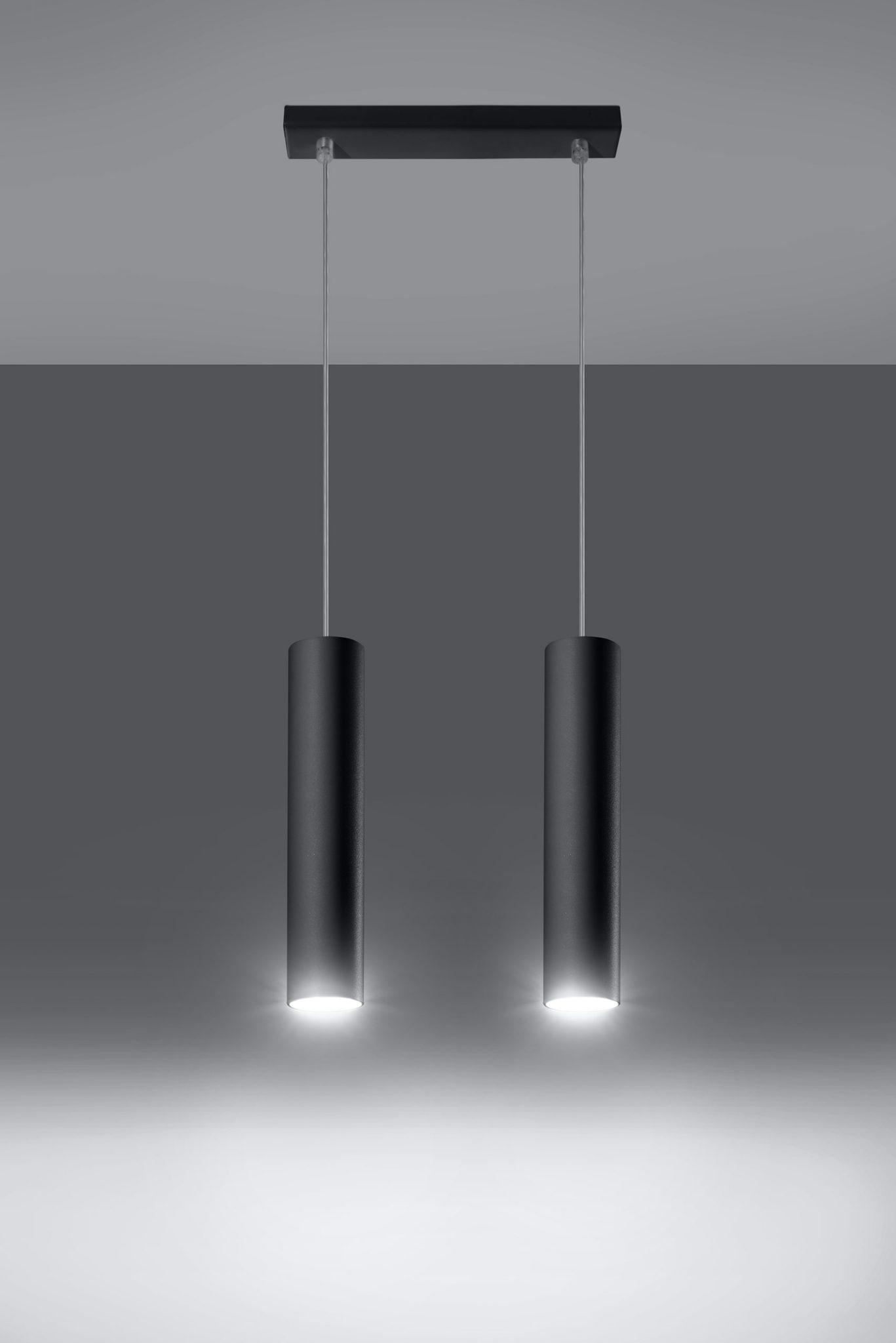 lampa wisząca zwis Lagos 2 kolor czarny 02