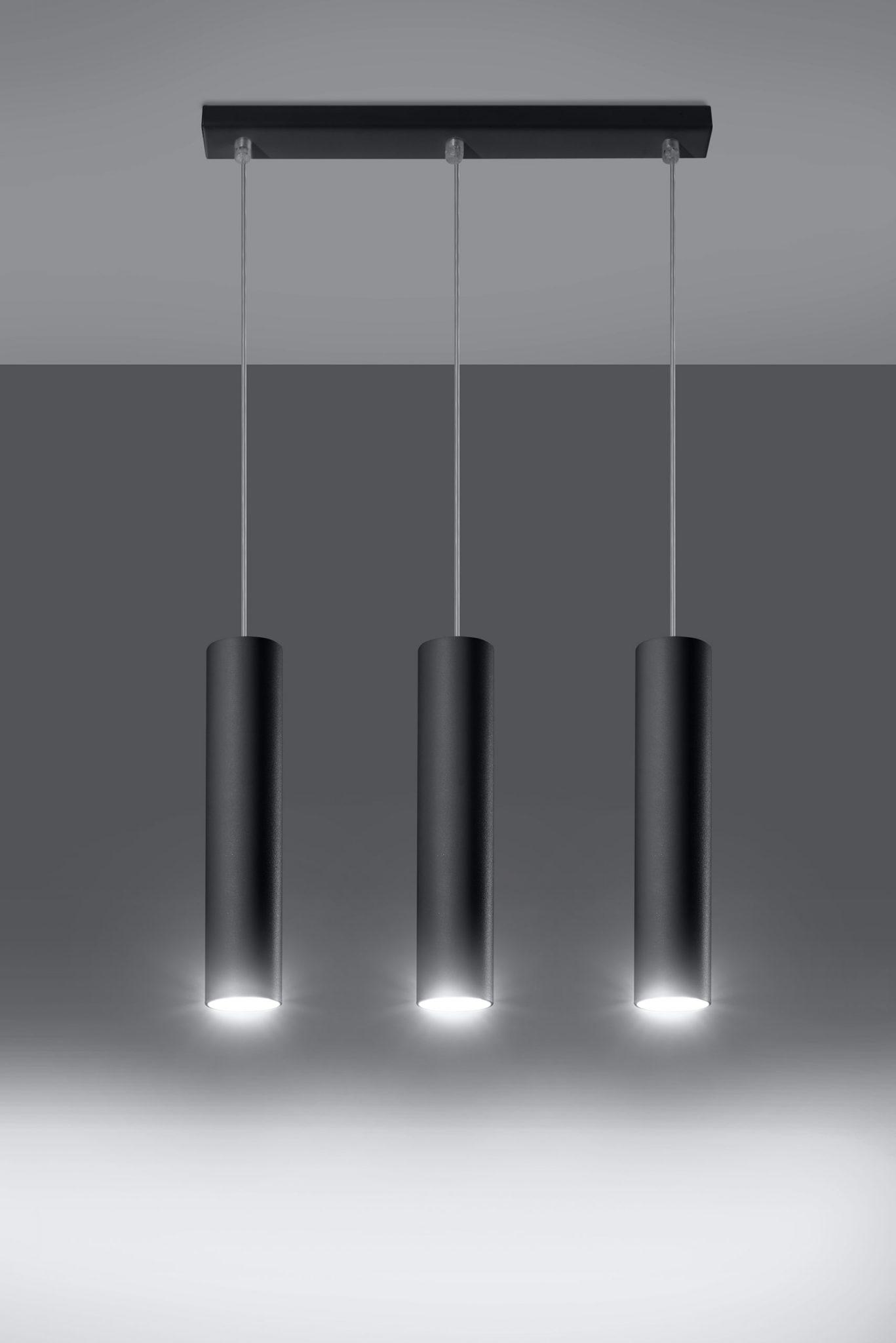 lampa wisząca zwis Lagos 3 kolor czarny 02
