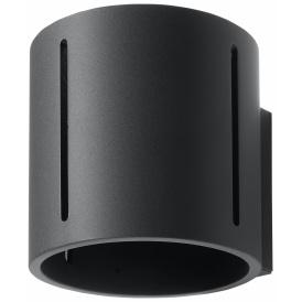 stalowy kinkiet w kształcie cylindra Inez 05