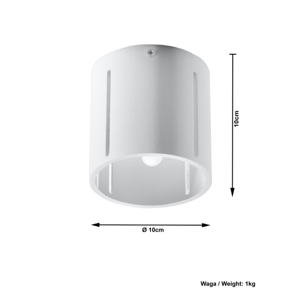 lampa sufitowa walec Inez 11