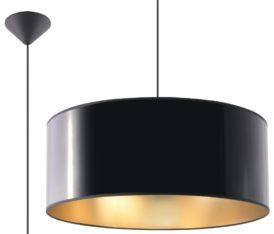 czarno- złota lampa Luxor 01