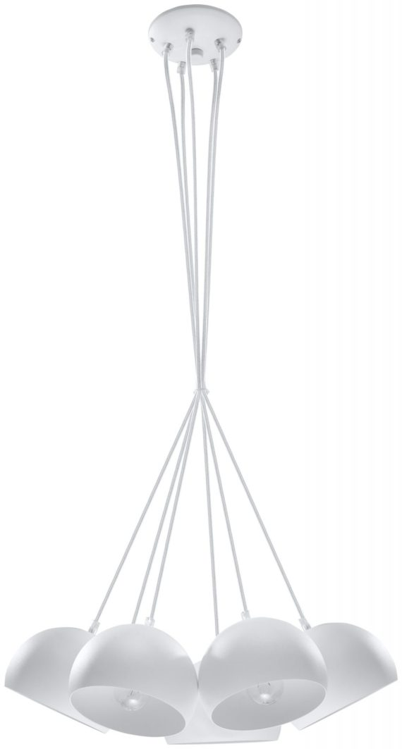Lampa sufitowa Bola 5 białe kule