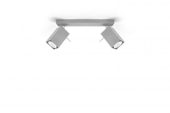 Lampa sufitowa regulowana Merida 2 Szary 01