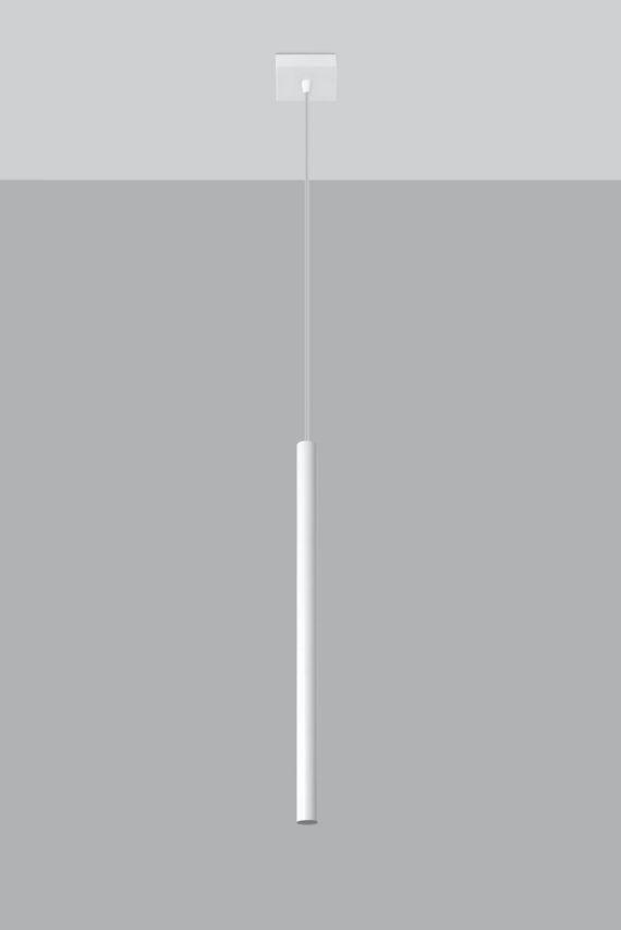 Lampa sufitowa wisząca Pastelo 1 kolor biały 03