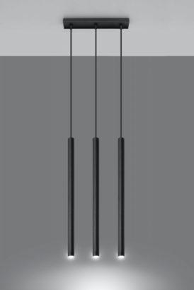 Designerska lampa wisząca Pastelo 3 punktowa 01