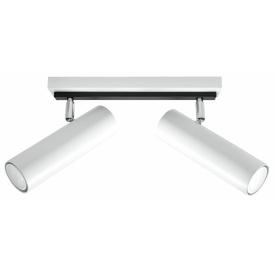 Nowoczesny plafon Direzione 2 kolor biały