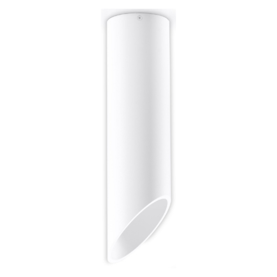 Biały plafon rurka 40 cm