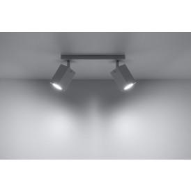 Lampa Sufitowa Spot Regulowany Plafon MERIDA 2 Biały