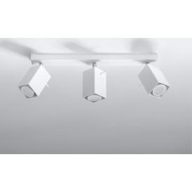 Lampa Sufitowa Spot Regulowany Plafon MERIDA 3 Biały