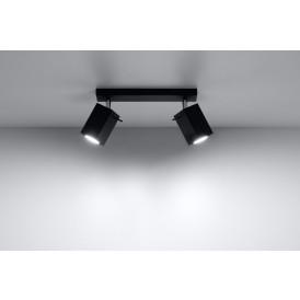 Lampa sufitowa regulowana Merida 2 kolor czarny
