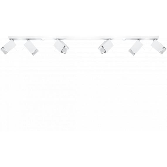Lampa Sufitowa Spot Regulowany Plafon MERIDA 6L Biały 02