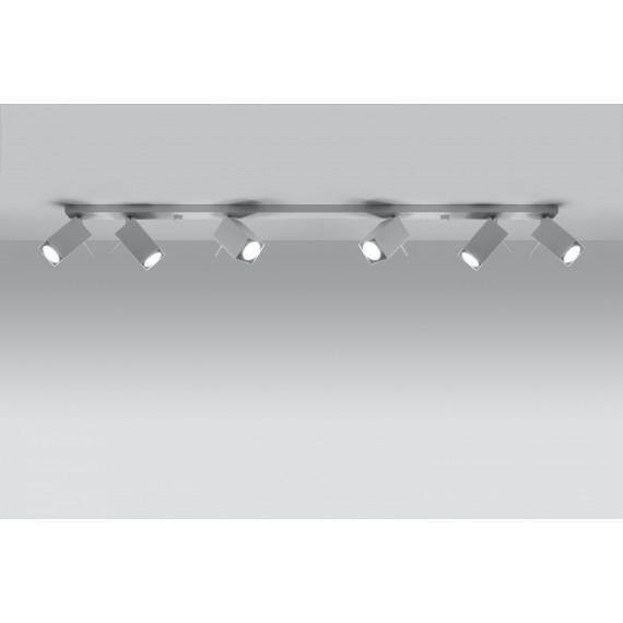 Lampa Sufitowa Spot Regulowany Plafon MERIDA 6L Biały 01