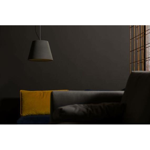 Lampa z betonu Kopa 36 Velvet 02