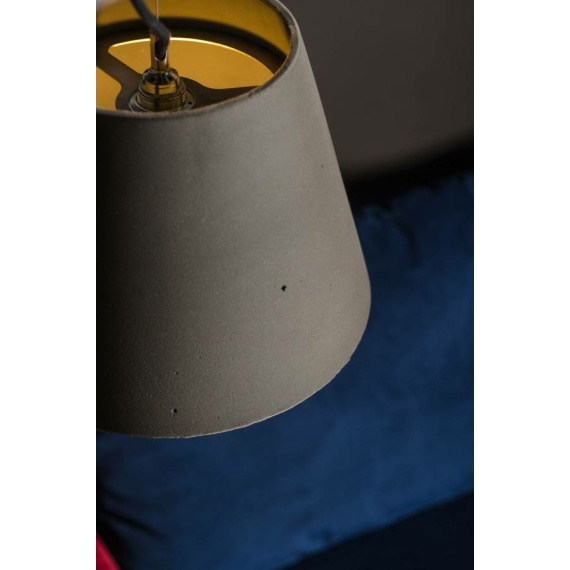 Lampa z betonu Kopa 36 Velvet 03