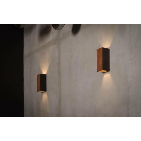 Nowoczesny kinkiet drewniany Orto Merbau 02