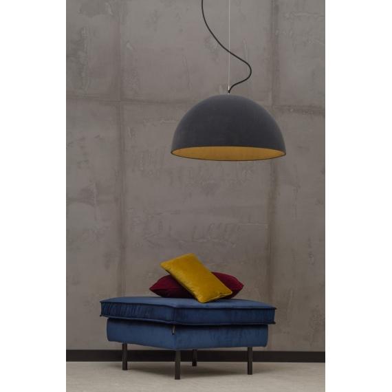 Loftowa lampa nad stół Sfera 62 Velvet 01