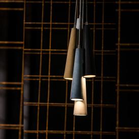 Industrialna lampa betonowa Sopel