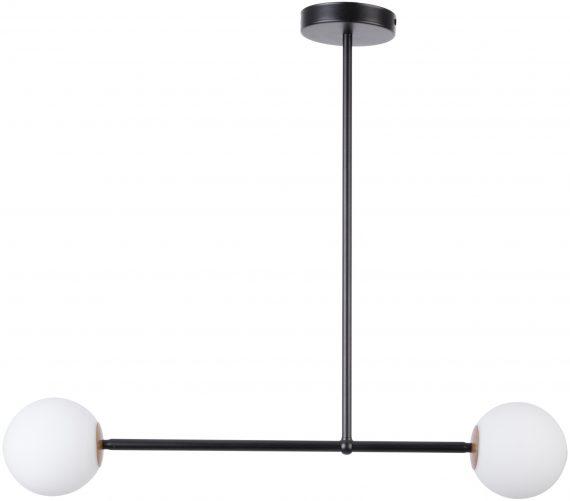 Lampa do salonu GAMA 2 kolor czarny