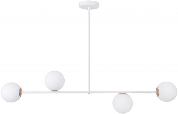 Lampa do salonu GAMA 3 kolor biały