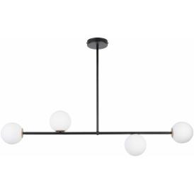 Lampa do salonu GAMA 4 kolor czarny