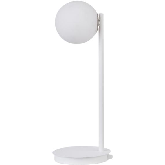 Lampa na stolik Gama kolor biały