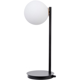 Lampa na stolik Gama kolor czarny
