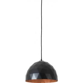 Nowoczesna lampa wisząca Leonard M miedziano czarna