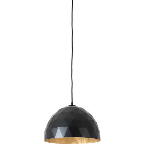 Okrągła nowoczesna lampa do salonu Leonard M