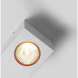 Lampa sufitowa reflektor Flass 1 kolor biały