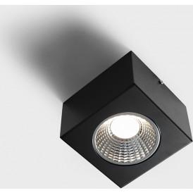 Lampa sufitowa LED Flas 1 kolor czarny