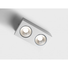 Lampa sufitowa LED Flass 2 kolor biały