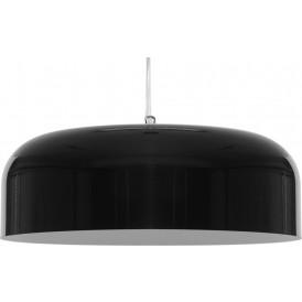 Nowoczesna lampa wisząca do salonu OW M czarny