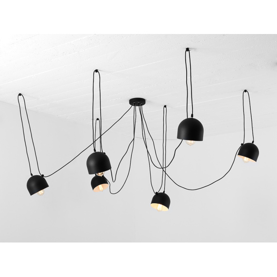 Nowoczesna lampa pająk do salonu Popo 6 Customform