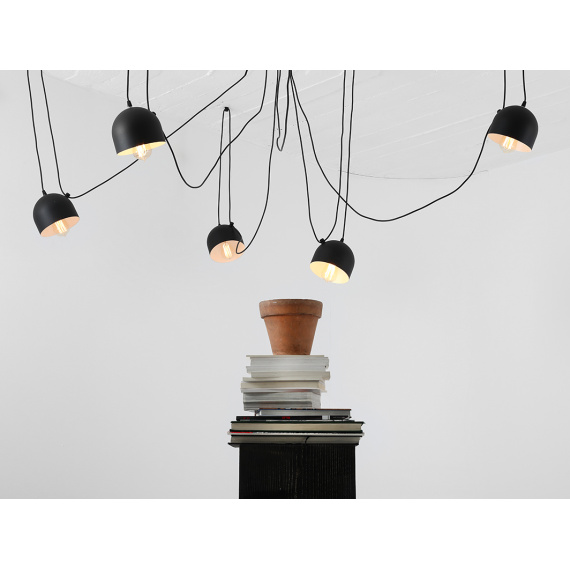 Nowoczesna lampa pająk do salonu Popo 6 Customform 01