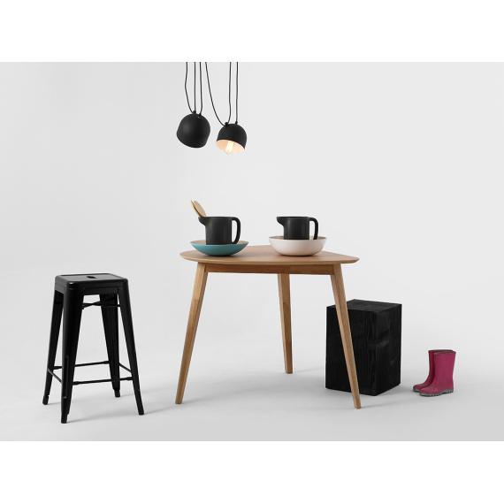 Nowoczesna lampa wisząca do salonu Popo 2 kolor czarny 02