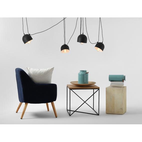 Industrialna lampa do salonu lampa pająk Popo 4 Custoform 02