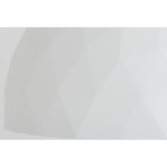 Nowoczesna lampa wisząca złoto biała glamour seria Leonardo 03