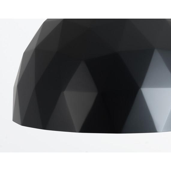 Okrągła nowoczesna lampa do salonu Leonard M 03