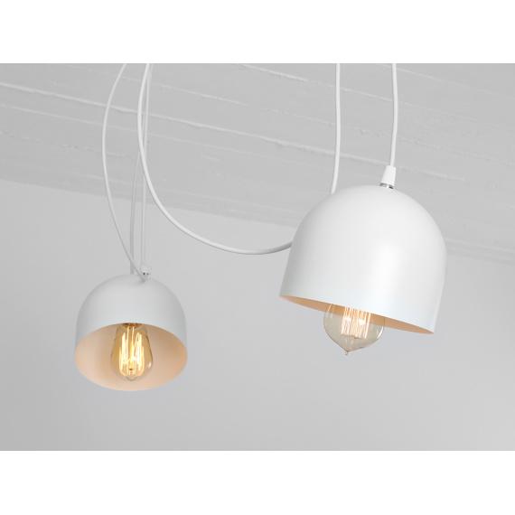 Nowoczesna lampa wisząca Popo 4 kolor biały 03