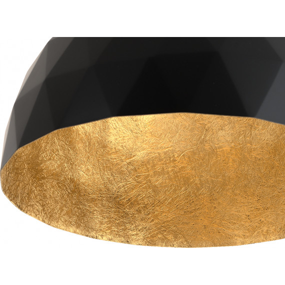 Okrągła nowoczesna lampa do salonu Leonard M 04