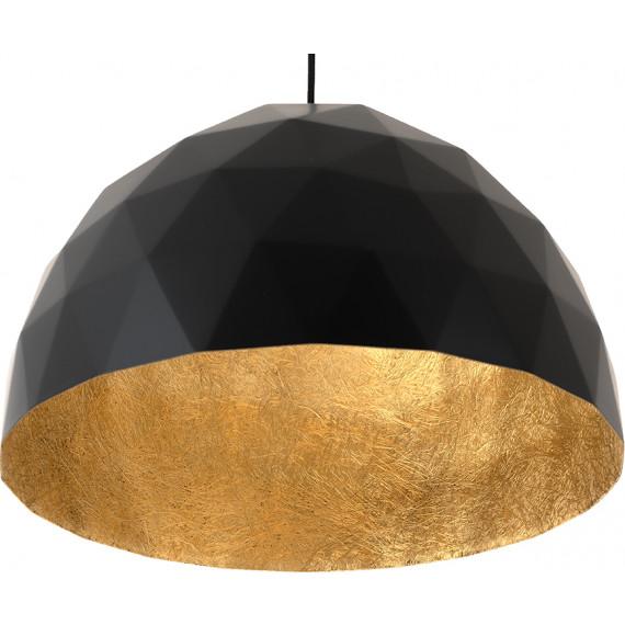 Złota lampa wisząca Leonard L 04
