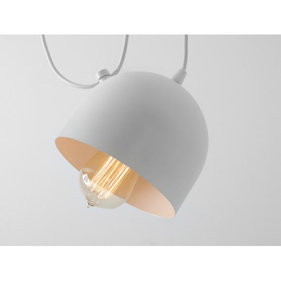 Nowoczesna lampa wisząca do salonu Popo 2 w kolorze białym 04
