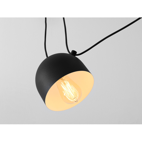 Industrialna lampa do salonu lampa pająk Popo 4 Custoform 04