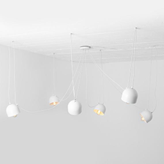 Lampa wisząca POPO 6 Wiszące   Żyrandole designerskie lampy wiszące