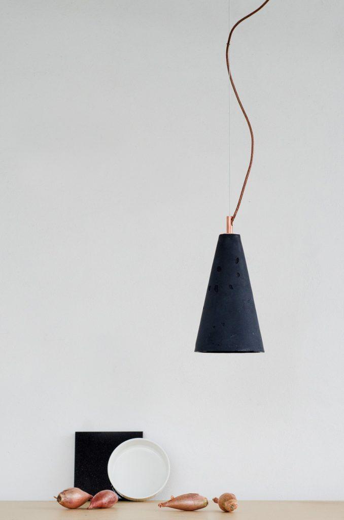 Betonowa lampa wisząca Kobe 2
