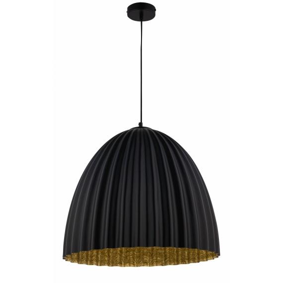 Lampa nad stół do jadalni Telma M kolor czarny-złoty