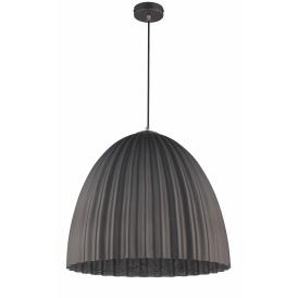 Nowoczesna lampa wisząca Telma M kolor srebrny