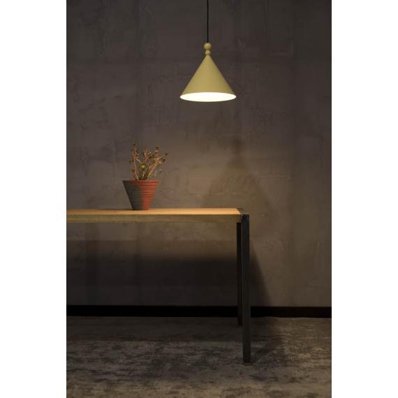 Lampa wisząca Konko - rozmiar 30cm - kolor Bamboo Yellow 01