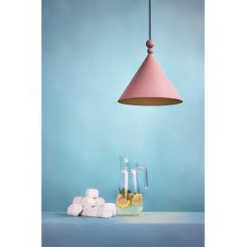 Lampa wisząca Konko dirty pink