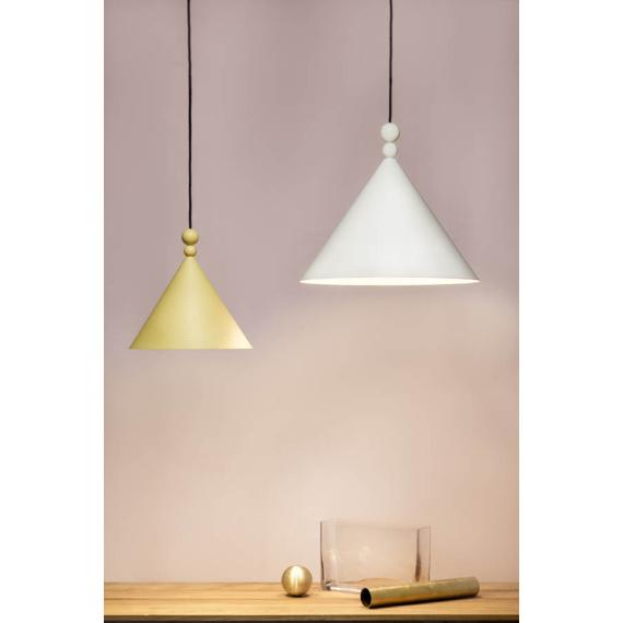Lampa wisząca Konko – kolory Oświetlenie designerka lampa